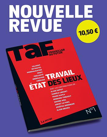 Couverture revue TAF