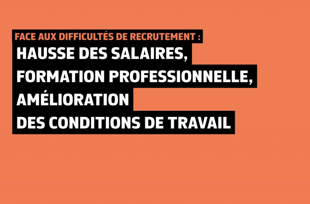 300 000 emplois restent à pourvoir en France